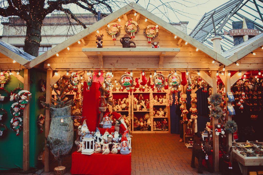 Kerst vieren bij een kerstmarkt!